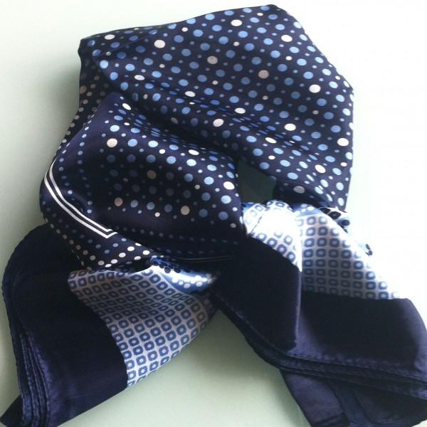 foulard soie homme bleu. Black Bedroom Furniture Sets. Home Design Ideas